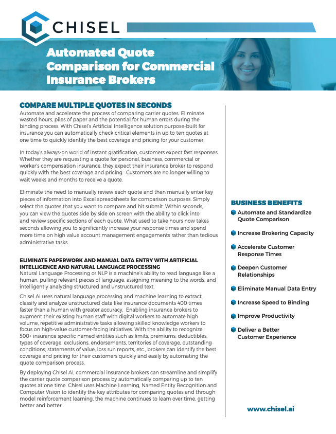 Chisel Quote Comparison for Commercial Insurance Brokers Solution Sheet 032019.pdf 2019-03-27 08-57-44
