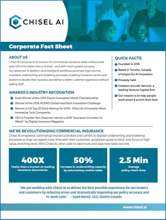 Chisel AI Fact Sheet