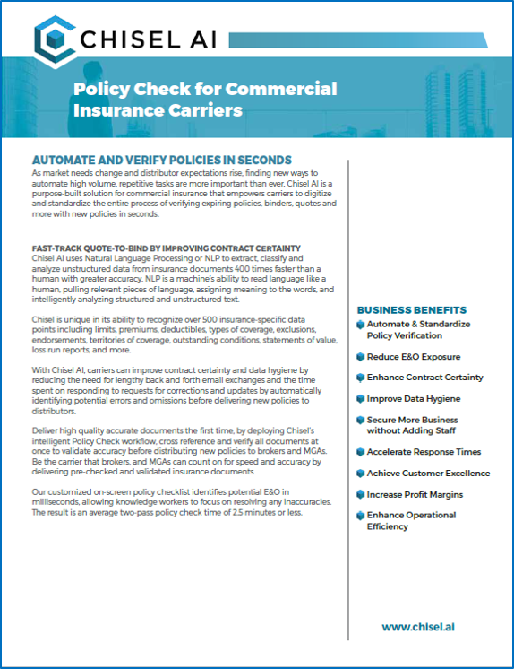 Policy Check for Commercial Carriers
