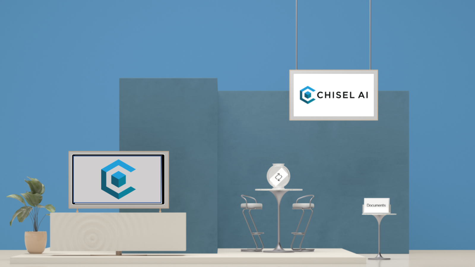 _Chisel AI ITC Booth 2020 Twitter