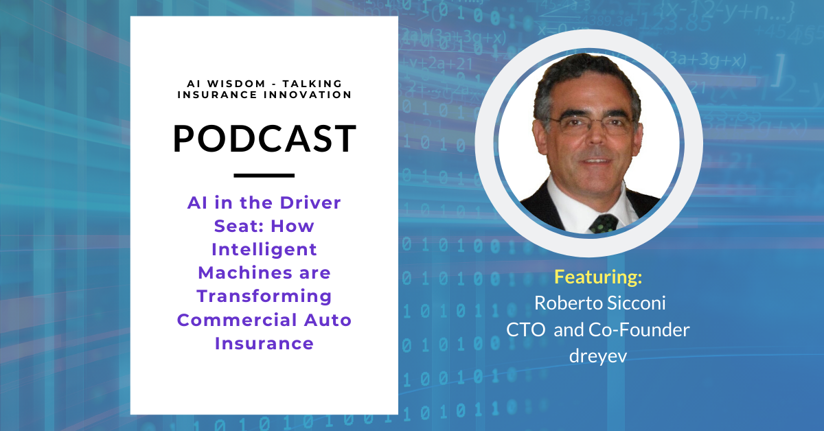 Listen to AI Wisdom Ep. 15: AI in the Driver's Seat with Roberto Sicconi